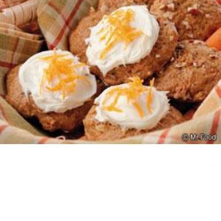 Iced Carrot Cake Cookies