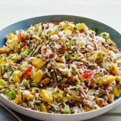 Mango-Cucumber Rice Salad