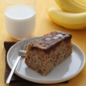 Chocolate Bottom Chiquita Banana Cake Recipe