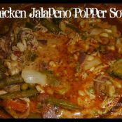 Chicken Jalapeno Popper Soup