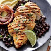 Mojo Grilled Chicken Breasts