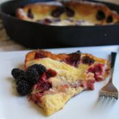Olallieberry Dutch Baby