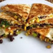 Black Bean and Spinach Quesadillas