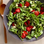 Strawberry Arugula Salad with Sweet Lime Vinaigrette