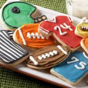 Football Game Cookies
