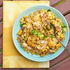 Simple Summer Corn and Endive Salad