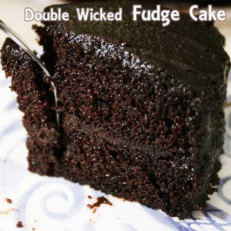 Double Wicked Fudge Cake Recipe 4 3 5
