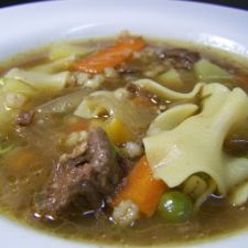Critchell House Prime Rib Soup
