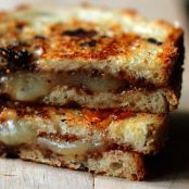 Fig, Manchego Grilled Cheese Sandwich