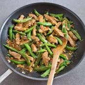 Pork and Sugar Snap Pea Stir-Fry