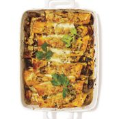 Shiitake Mushroom and Potato Enchiladas