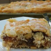 Glazed Flat Apple Pie