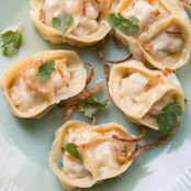 Steamed Pork Belly Dumplings with Brown Butter