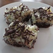 Coconut Macaroon Topped Brownies