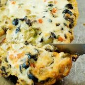 Olive Cheese Bread by Ree Drummond