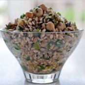 Bulgar Pilaf with chickpeas and parsley