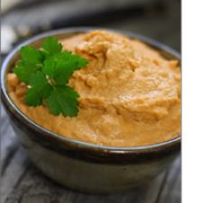 Roasted Red Pepper & Cashew Hummus