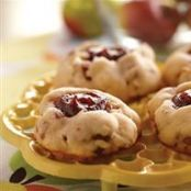 Apple Butter Thumbprint Cookies