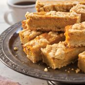 Pumpkin-Streusel Pie Bars