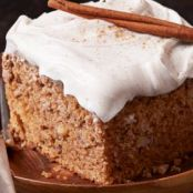 OLD FASHIONED APPLESAUCE SPICE CAKE