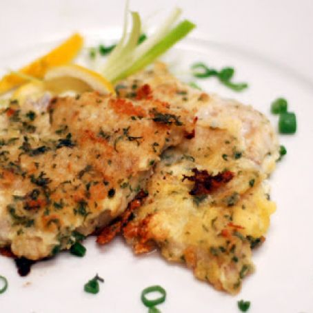 Baked Tilapia with a Kick
