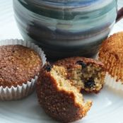 Muffins - Toasted Quinoa, Blueberry and Banana Muffin