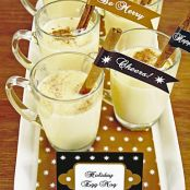 Beverage - Egg Nog - Homemade