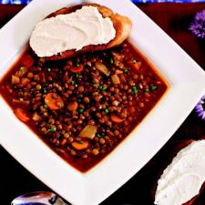 Smoked French Lentil Soup