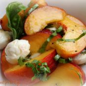 California Peach Caprese Salad