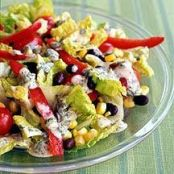 Sante Fe Salad with Chili-Lime Dressing - Weight Watchers