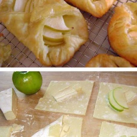 Apple Brie Tarts