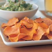 Guacamole & Sweet Potato Chips