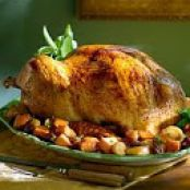 Herb Roasted Turkey with Roasted Apples & Root Vegetables