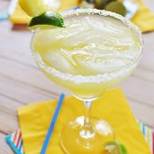 Fresh Pineapple Margaritas