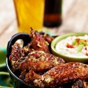 Bacon-Ranch Chicken Wings
