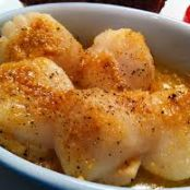 Sea Scallops, Baked