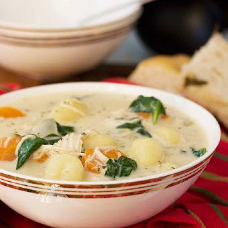 Crockpot Chicken Gnocchi Soup Olive Garden Recipe 4 3 5