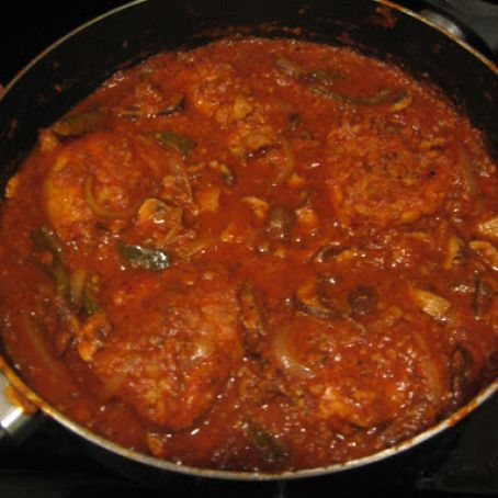 Easier Chicken Cacciatore