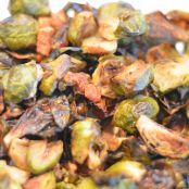 Brussels Sprouts with Bacon or Pancetta, Garlic, and Shallots