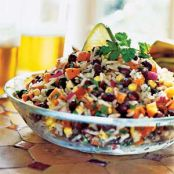 Black Bean, Rice & Veggie Salad