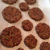 Cuban Black Bean Cakes