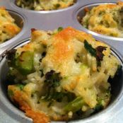 Broccoli rice Cups