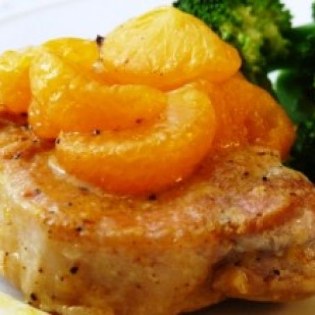 Crock Pot Pork Chops with Oranges