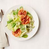 Crab & Avocado Salad with Pancetta