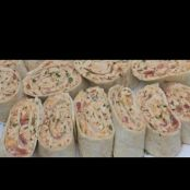 MEXICAN CHICKEN SALAD WRAPS-PINWHEELS