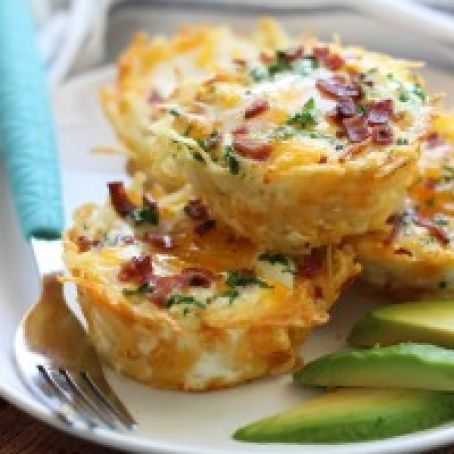 Eggs - Hash Brown Egg Nests