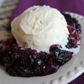Berry Cobbler - Crock Pot style