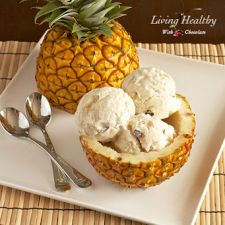 Pineapple Coconut Ice Cream - Dairy Free, Paleo