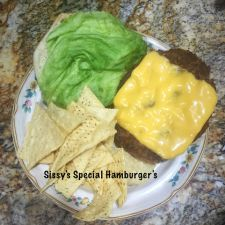 Sissy's Special Hamburgers