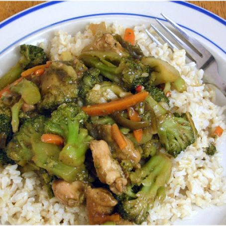 Easy Chicken Teriyaki Stir-Fry